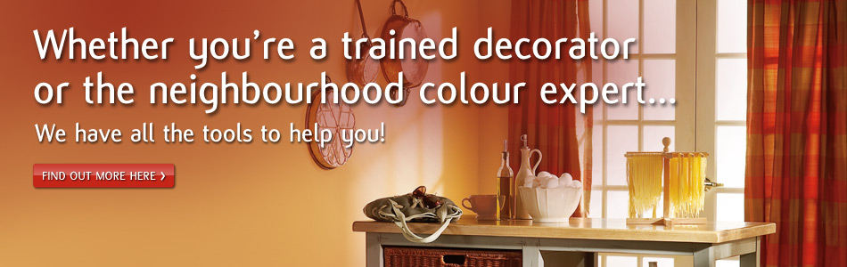 Whether you're a trained decorator or a trained expert, we have all the tools you'll need.